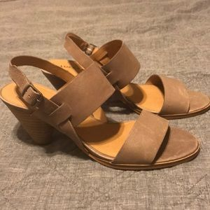 LUCKY BRAND tan sandals. BRAND NEW Size 8